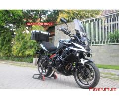 Kawasaki Versys 2013 putih FP full modif part branded->Motor