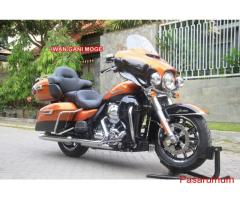 Brand new HD Ultra Limited  2016 warna amber whisky black->Motor