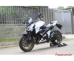 Kawasaki Z800 Putih April 2016 FP plat L